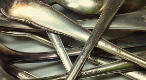 90er-Silberbesteck